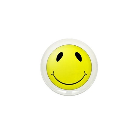 Super Smiley Mini Button By Fthc