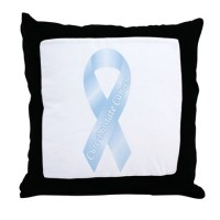 Prostate Cancer Throw Pillow by supportstore