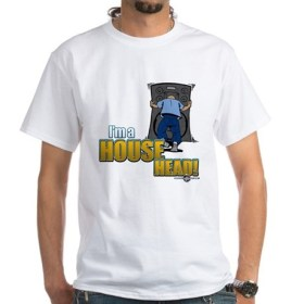 Old School House White T-Shirt