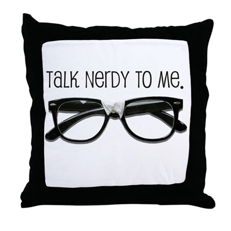Nerdy Pillows Nerdy Throw Pillows  Decorative Couch Pillows