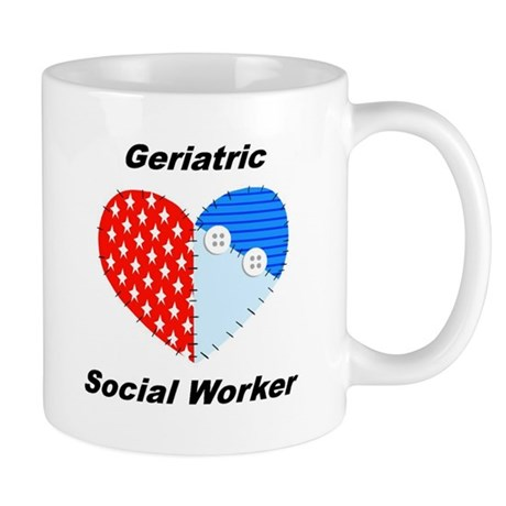 Geriatric Social Worker Mug by swgifts