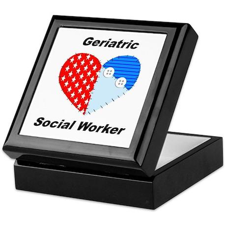 Geriatric Social Worker Keepsake Box by swgifts