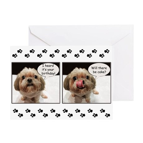 Shih Tzu Birthday Greeting Cards Card Ideas Sayings