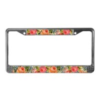 Decorative Licence Plate Frames | Decorative License Plate ...