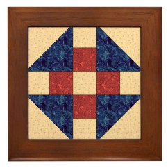 Long Kitchen Rugs Glass Tile Countertop Monkey Wrench Quilt Block Framed By Quiltergear