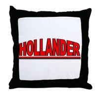 """Hollander"" Throw Pillow by outoftheboxx"