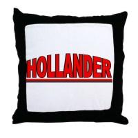 """Hollander"" Throw Pillow by outoftheboxx"