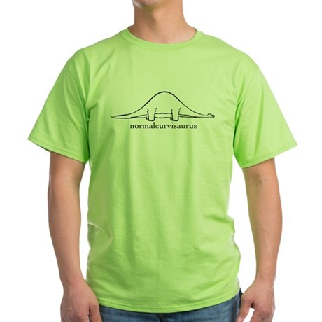 normal distribution dinosaur shirt
