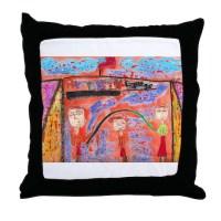 Tahari Shortridge Throw Pillow by harveymilk