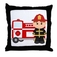 Fire Truck Pillows, Fire Truck Throw Pillows & Decorative