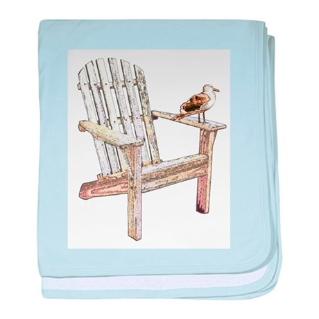 Adirondack Chair Infant Blanket by crittercollect