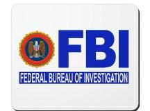 FBI Federal Bureau of Investigation Mousepad by ...