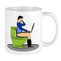 Toilet Bowl Coffee Mugs   Toilet Bowl Travel Mugs - CafePress