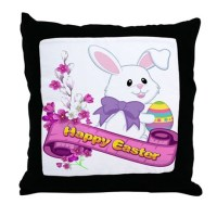 Happy Easter Pillows, Happy Easter Throw Pillows ...