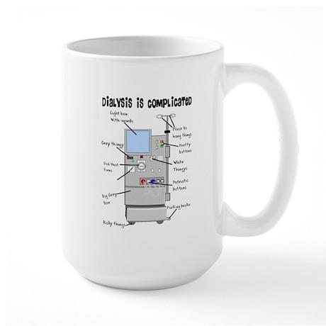 Dialysis Large Mug by nurseii