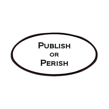 Publish or Perish Patches by AcademicallyMinded