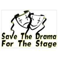 Save The Drama Wall Decal