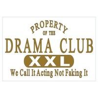 Drama Club Wall Decal