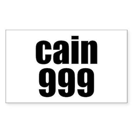 Herman Cain 999 Decal by cyido