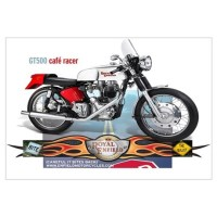Bite the Bullet GT500 Cafe Racer Wall Decal
