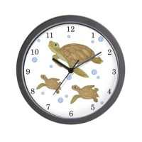 Sea Turtle Wall Clock by TotsOFun