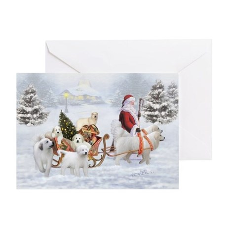 Great Pyrenees Christmas Greeting Cards Card Ideas