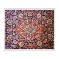 Persian carpet 1 Throw Blanket by EasternArts1