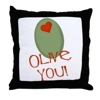 Olive Green Pillows, Olive Green Throw Pillows