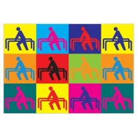 Physical Therapy Pop Art Wall Art Canvas Art