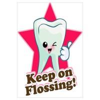 Dentist Dental Hygienist Teeth Wall Art Wall Decal