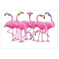 Pink Flamingo Wall Art | Pink Flamingo Wall Decor