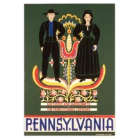 Pennsylvania Dutch Wall Art Canvas Art