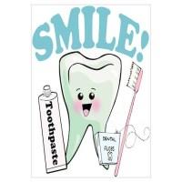 Dentist Dental Hygienist Teeth Wall Art Canvas Art