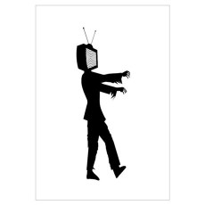 Image result for television zombie