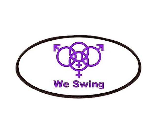 Swinger Symbol We Swing Patches