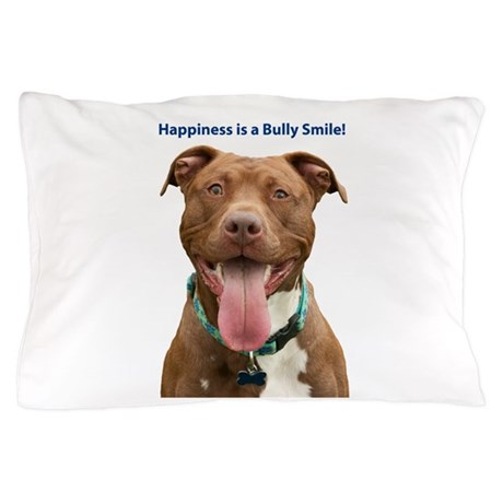Pit Bull 14 Pillow Case by PupArt01