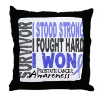 Cancer Prostate Pillows, Cancer Prostate Throw Pillows ...