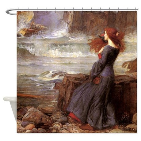 Miranda The Tempest Shower Curtain By Iloveyou1
