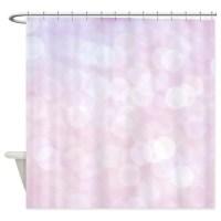 Light Pink Shower Curtains | Light Pink Fabric Shower ...