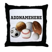 Sports Pillows, Sports Throw Pillows & Decorative Couch ...