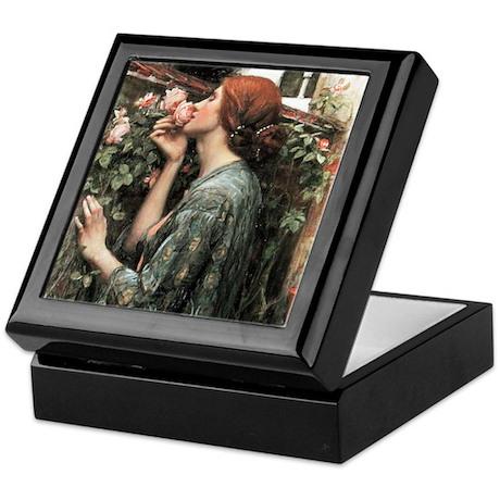 John William Waterhouse My Sweet Rose Keepsake Box by iloveyou1