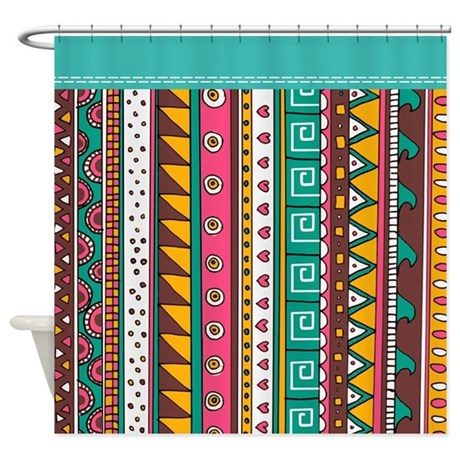 Colorful Pattern Curtains