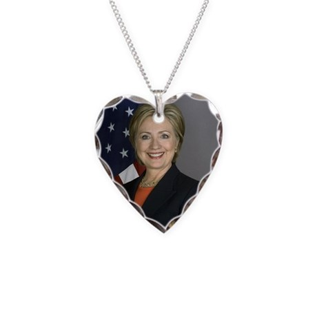Hillary Clinton Necklace by GovernmentTease