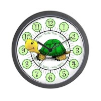 Turtle Time Wall Clock by theturtlebox