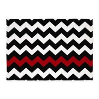 Black And Red Chevron Rugs, Black And Red Chevron Area ...