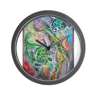 Sea Turtles Clocks | Sea Turtles Wall Clocks | Large ...
