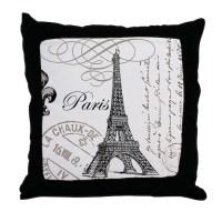 Paris Pillows, Paris Throw Pillows & Decorative Couch Pillows