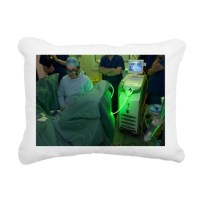 Endoscopic prostate surgery - Pillow by sciencephotos