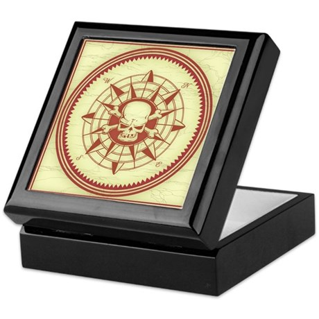 Compass Rose Keepsake Box by vicevoices