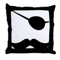 Stache Pillows, Stache Throw Pillows & Decorative Couch